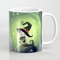 fireflies Mugs featuring Fireflies by Freeminds