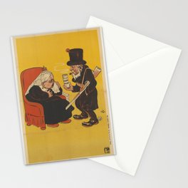 Paul Kruger offering Dum-dum pills to Queen Victoria Stationery Cards