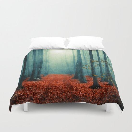 Landscape (colour option) Duvet Cover
