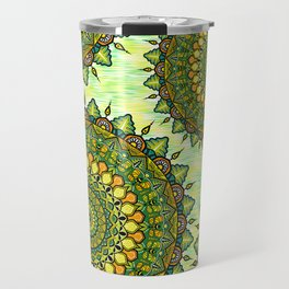 Mandala Natura Travel Mug