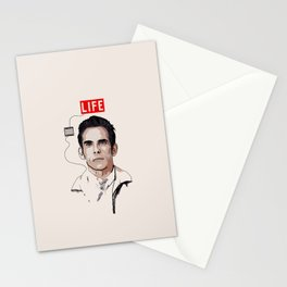 Walter Mitty Stationery Cards