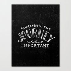 Special Edition Circles 2013 Prints - The Journey Canvas Print