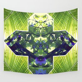 Palm Prism Original Artwork by Rachael Rice Wall Tapestry