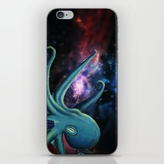 octopus astronaut  iPhone Skin