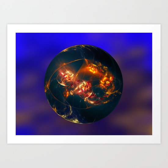 This is Another World 2 Art Print