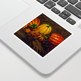 Autumn Pumpkins Sticker