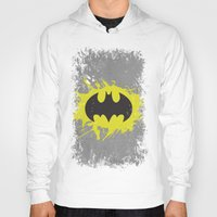 bat man Hoodies featuring Bat Man by Some_Designs