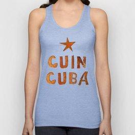 CUIN CUBA Unisex Tank Top