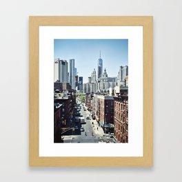 Contrasts Framed Art Print