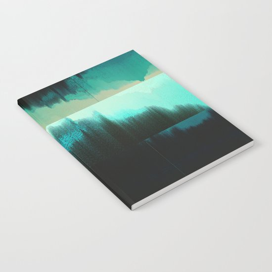 Aqua Block Notebook