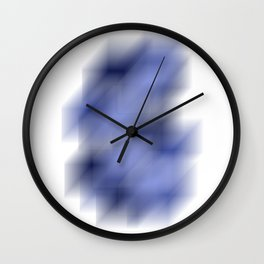 Cool Cube Abstract Illustration Wall Clock