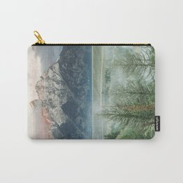 grand teton thaw wyoming Carry-All Pouch