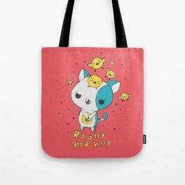 Really Good Kitty Tote Bag
