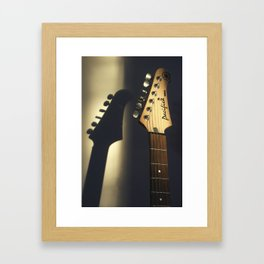 Golden Pacifica Framed Art Print