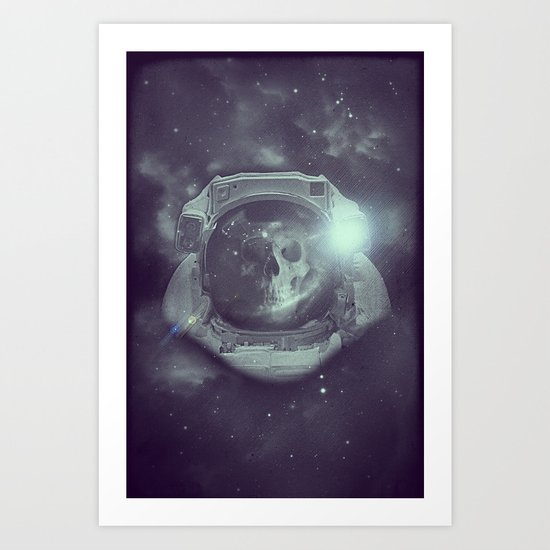 Deathnaut Art Print