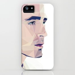 Lee Pace - Low Poly iPhone Case