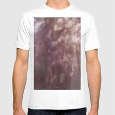 Vaguest Recollection MEDIUM White Mens Fitted Tee