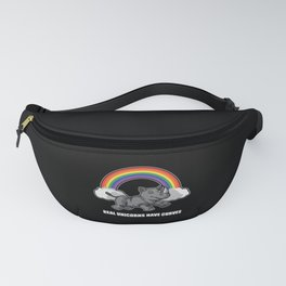 Real Unicorns Have Curves Fanny Pack