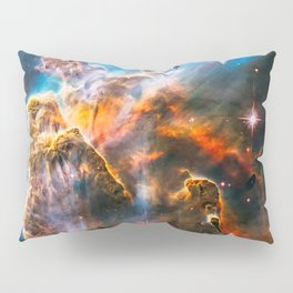 Carina Nebula, Galaxy Background, Universe Large Print, Space Wall Art Decor, Deep Space Poster Pillow Sham