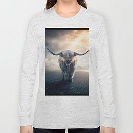 highland cattle scotland Long Sleeve T-shirt