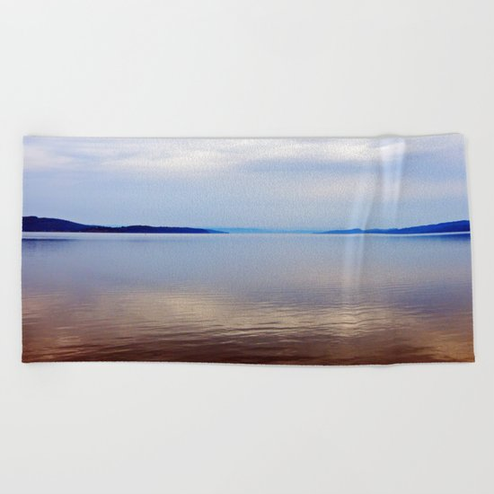 Matapedia River Mouth Beach Towel