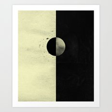 Like Night and Day Art Print
