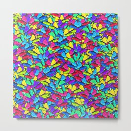Colourful Butterfly Metal Print