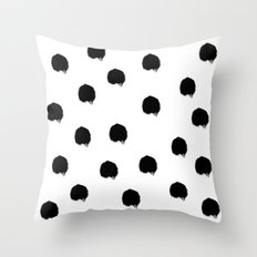 Brush 01 Throw Pillow