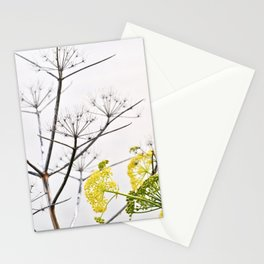 YELLOW WILD-FLOWERS of Sicily Stationery Cards