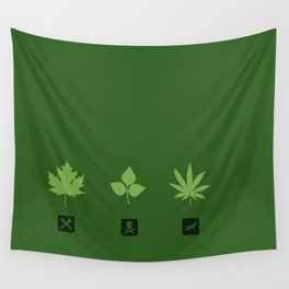 Select your leaf Wall Tapestry