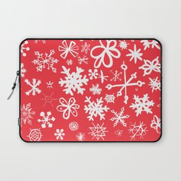 Snowflakes Laptop Sleeve