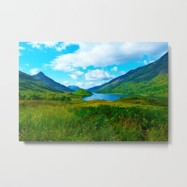 View from Kinloch Metal Print