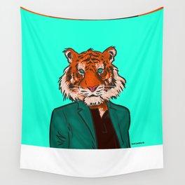Tiger Beat Wall Tapestry