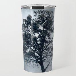 Ice Cool Cotton Field Tree - Landscape Travel Mug