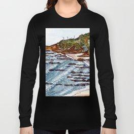 Cabo Mondego, Portugal Long Sleeve T-shirt