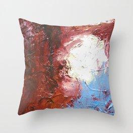 Erase the Damage by Nadia J Art Throw Pillow