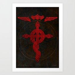 Full Celtic Alchemist Art Print
