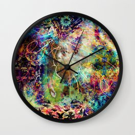 Wisdom Of Youth Wall Clock