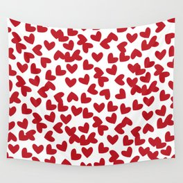 HEART / pattern pattern Wall Tapestry