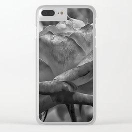 Silk Curl Clear iPhone Case