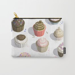 I Like Cupcakes Carry-All Pouch