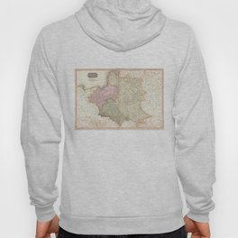 Vintage Map of Poland (1818) Hoody