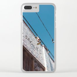 San Francisco XI Clear iPhone Case