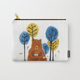 Coffee Bear Carry-All Pouch
