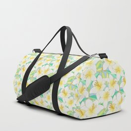 Gilding the Lilies - bright Duffle Bag