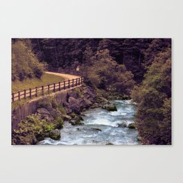 Fassa Valley Canvas Print