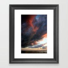 Waves of Color Framed Art Print