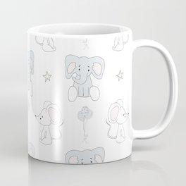 Elephant and Mouse Coffee Mug