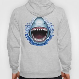 Shark Jaws Attack Hoody