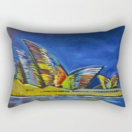 Vivid Sydney Rectangular Pillow